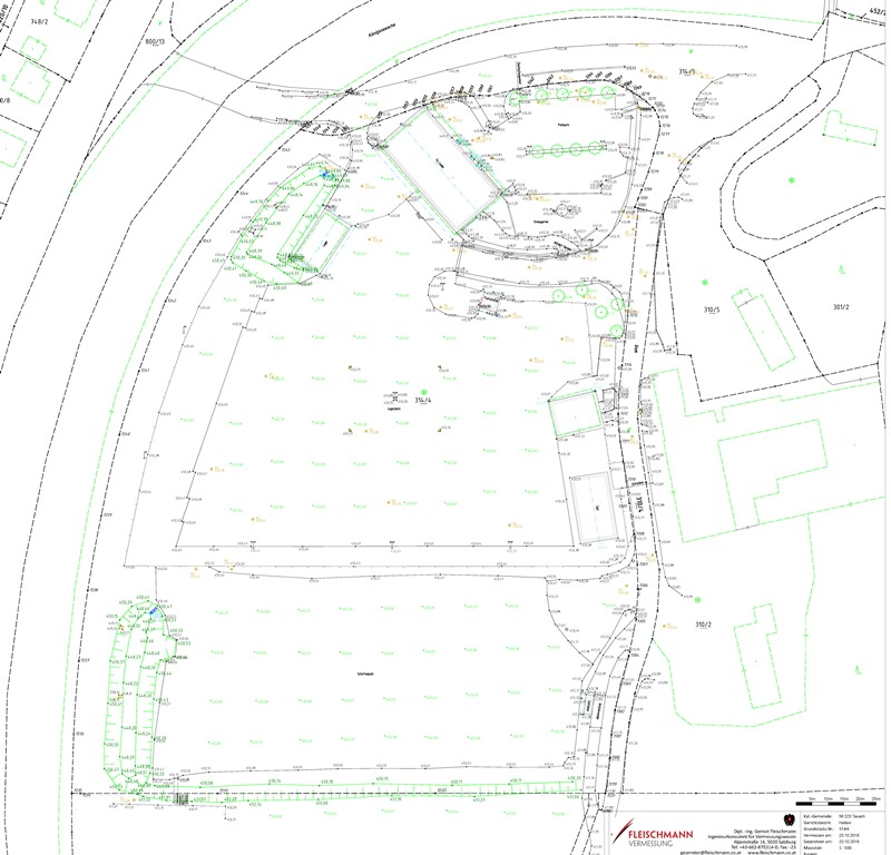 Bestandsvermessung für die Bauplatzerklärung - 2018
