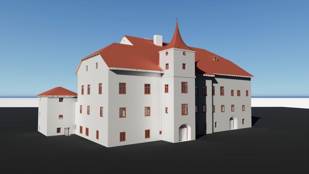 3D-Laserscan, Museum Werfen 2018