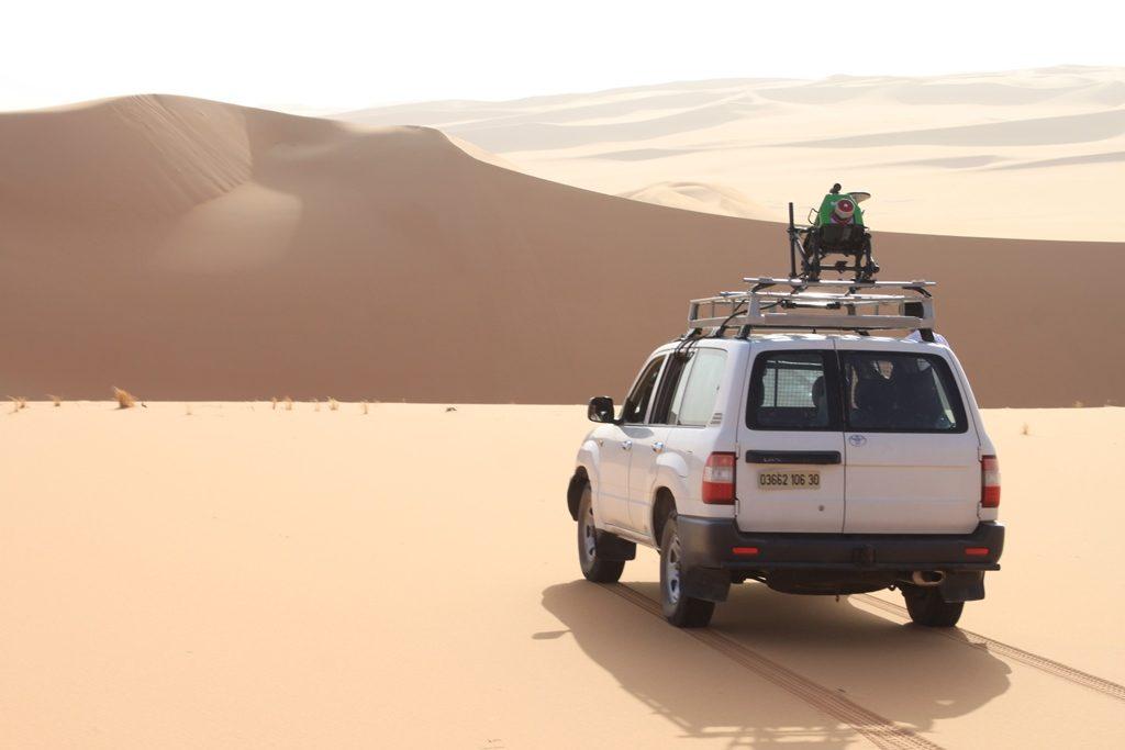 Mobiles Laserscanning Algerien 2019